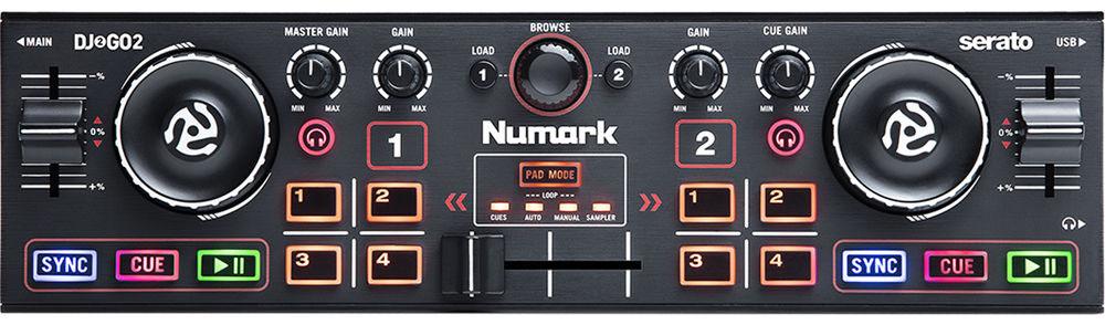 Controlador Numark DJ2GO2 Serato DJ