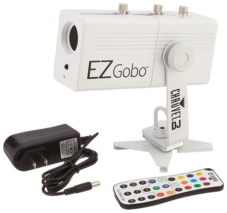 Proyector GObo LED alimentado por batería CHAUVET DJ EZGOBO