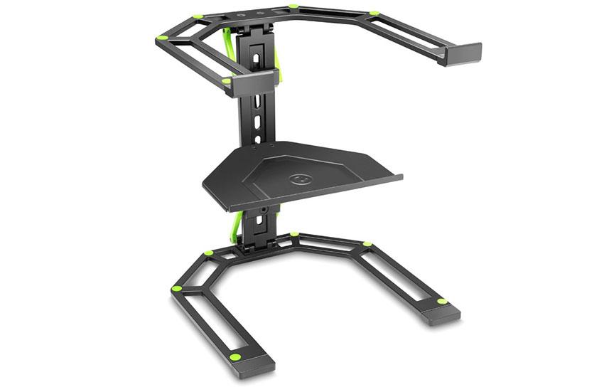 Gravedad LTS 01B Portátil y Soporte del controlador Adjustable DJ Stand