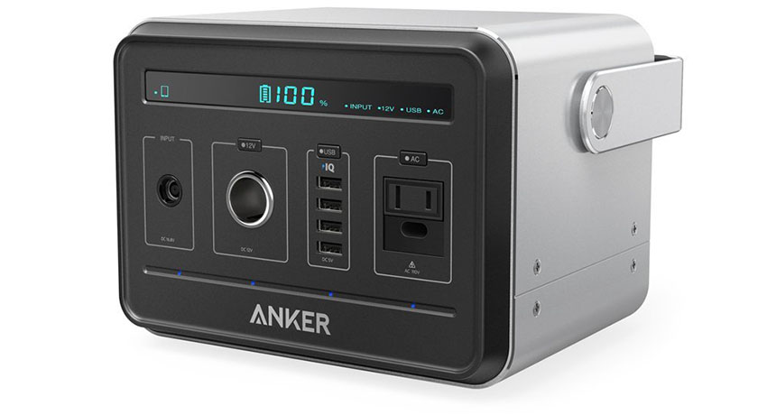 Anker Powerhouse, compacto 400Wh / 120000mAh salida portátil, generador de fuente de alimentación recargable alternativa