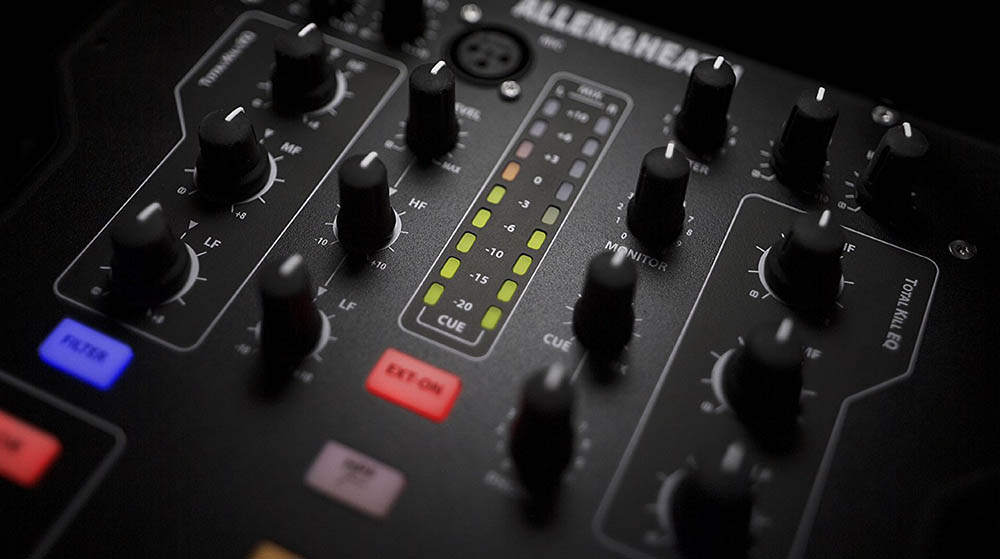 El mezclador DJ