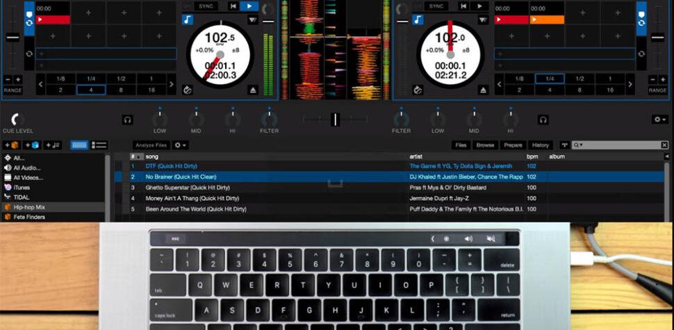 Usar Serato DJ sin controlador