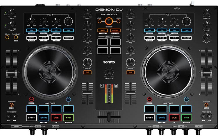 Controladora Denon MC4000
