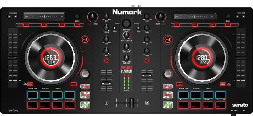 Controladora Numark Mixtrack Platinum