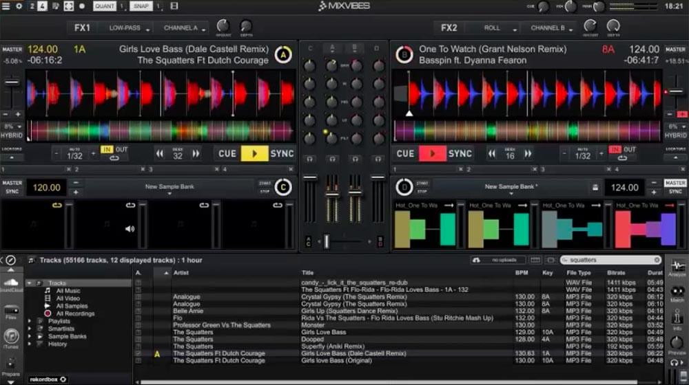 MixVibes Cross DJ