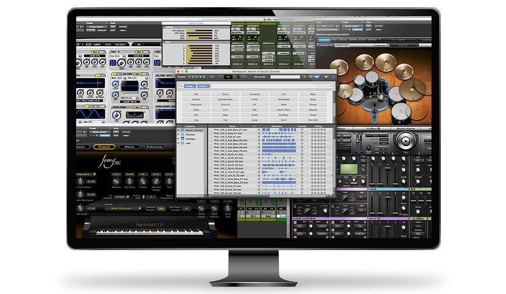 DAW – Ableton/Logic/Pro Tools/Fruity Loops/GarageBand
