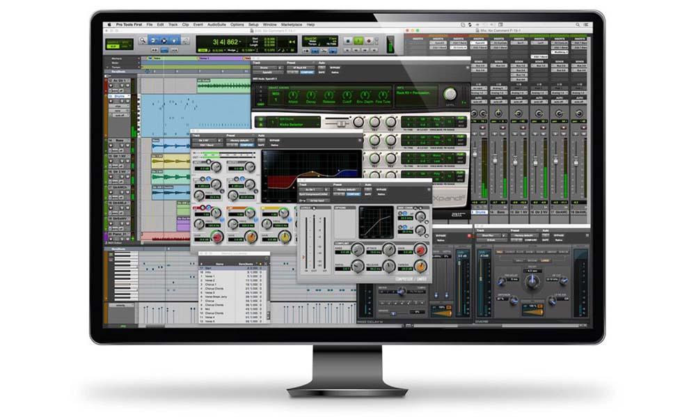 Mezcla en la producción de audio mediante un DAW