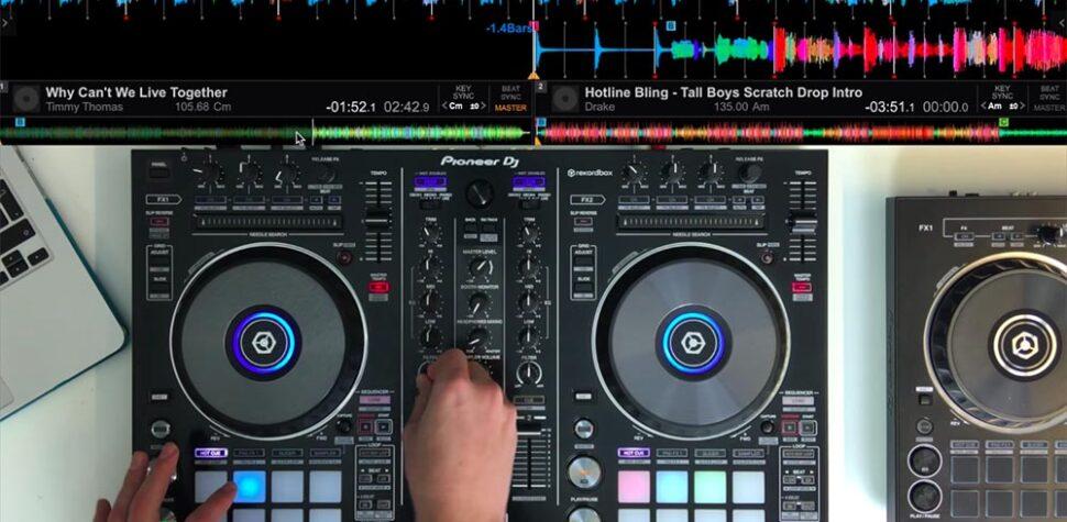 Técnicas avanzadas de mezcla de DJ